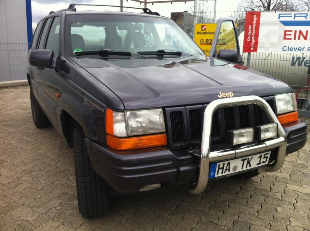 Autogas Umrüstung Jeep