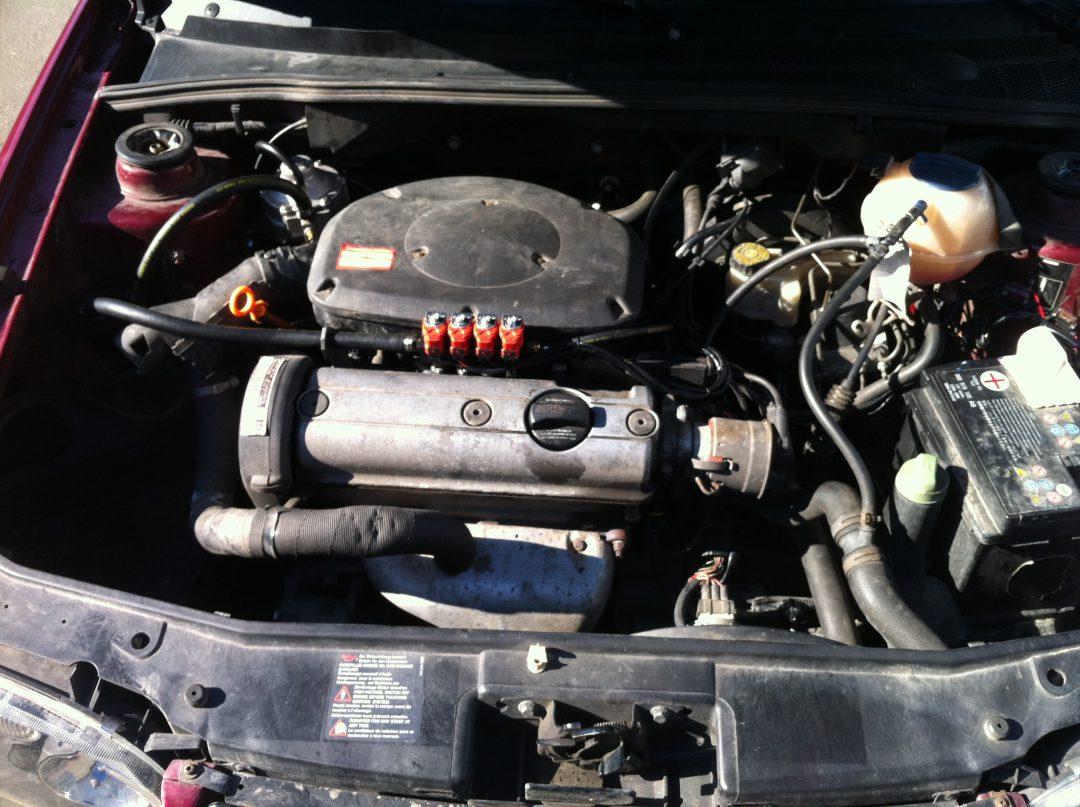 Autogas-Umruestung-LPG-Frontgas-VW-Golf3-1,8-System