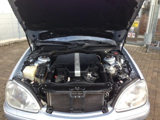 Autogas-Umruestung-LPG-Frontgas-Mercedes-S320-W220-System