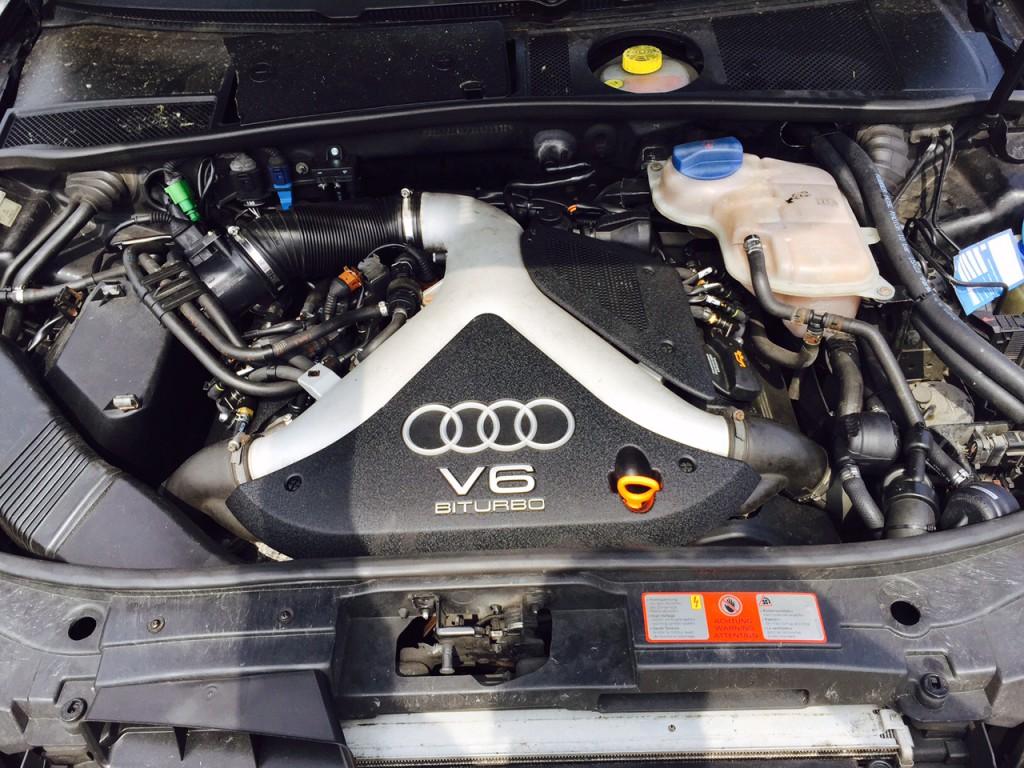 Audi A6 4B 2,7T - Frontgas.de