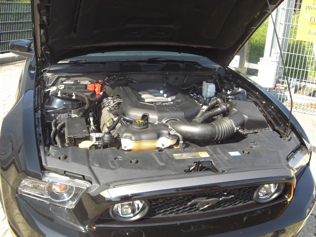 Autogas-Umruestung-LPG-Frontgas-Ford-Mustang-5.0-System-1024x768