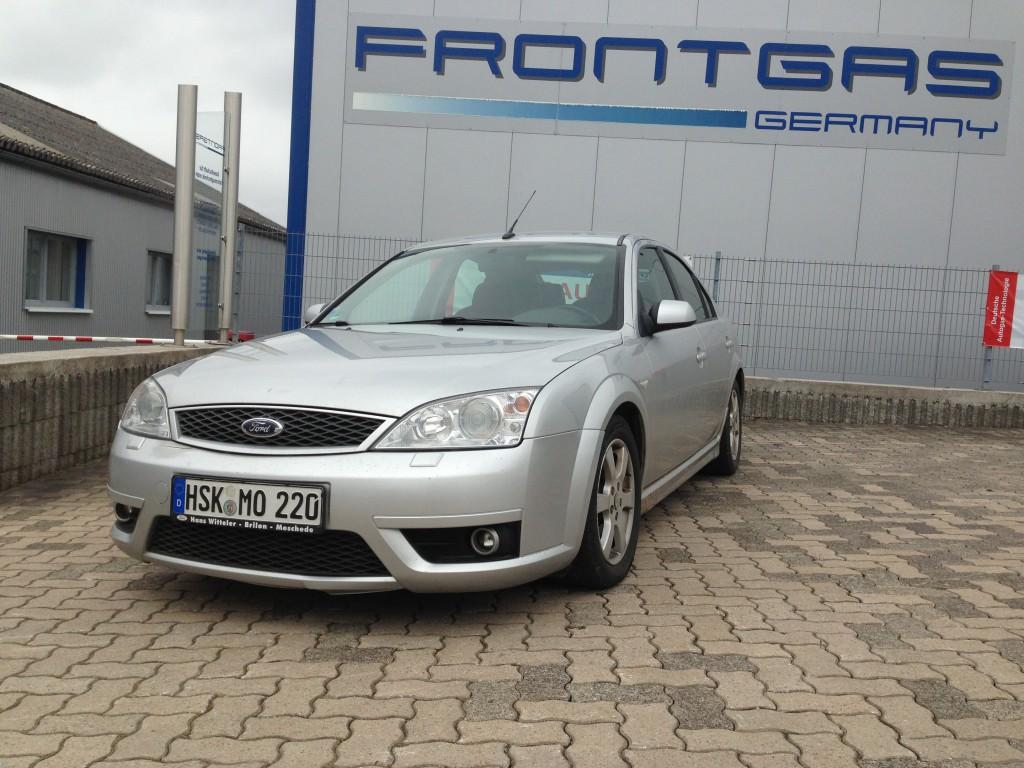 Autogas-Umruestung-LPG-Frontgas-FordMondeo-ST220-Hauptbild-1024x768
