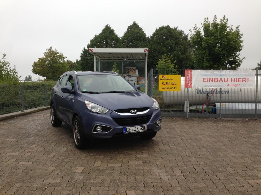 Autogas Umrüstung Hyundai