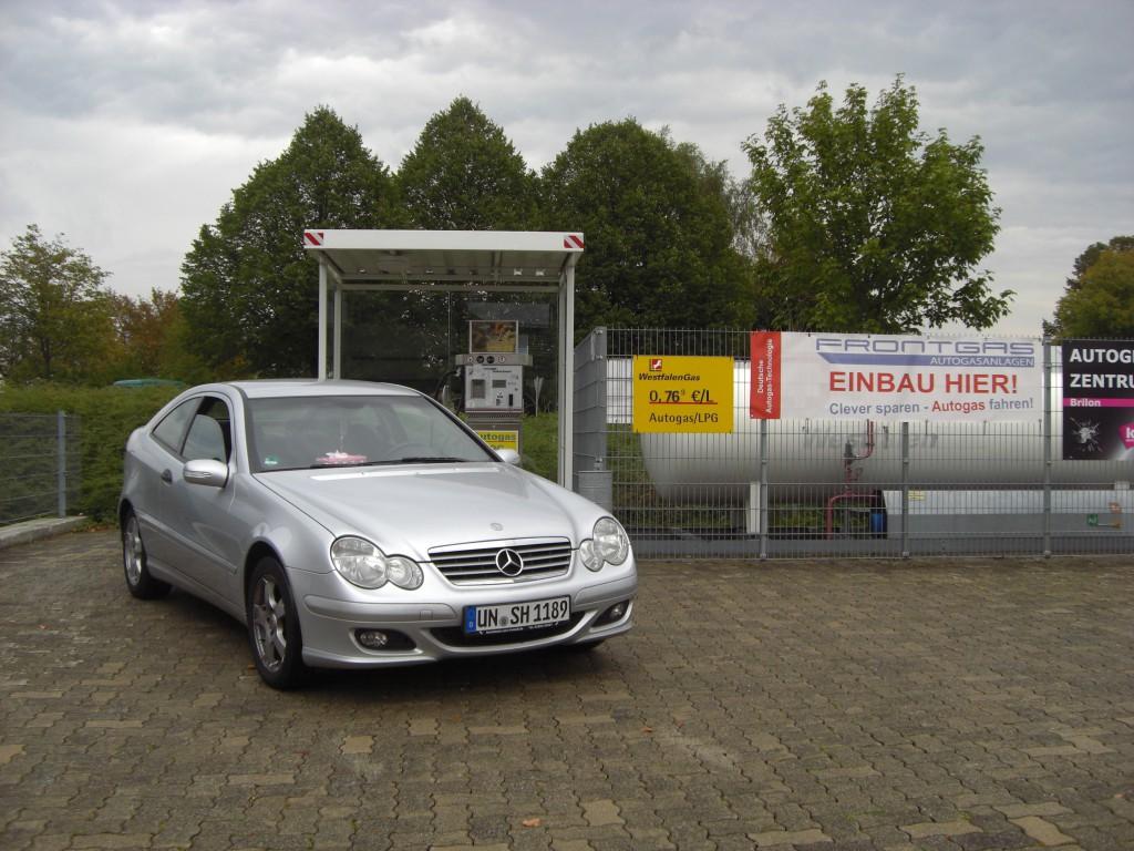 Mercedes Cl200 K W203 Frontgas De