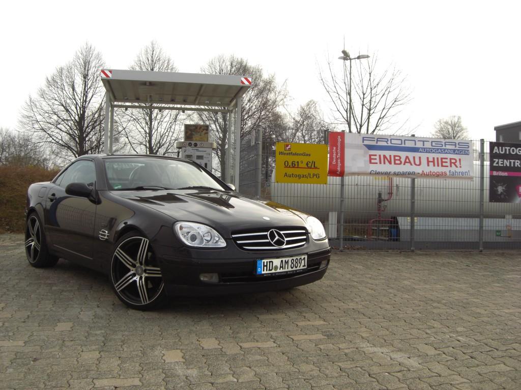 Autogas Umrüstung Mercedes