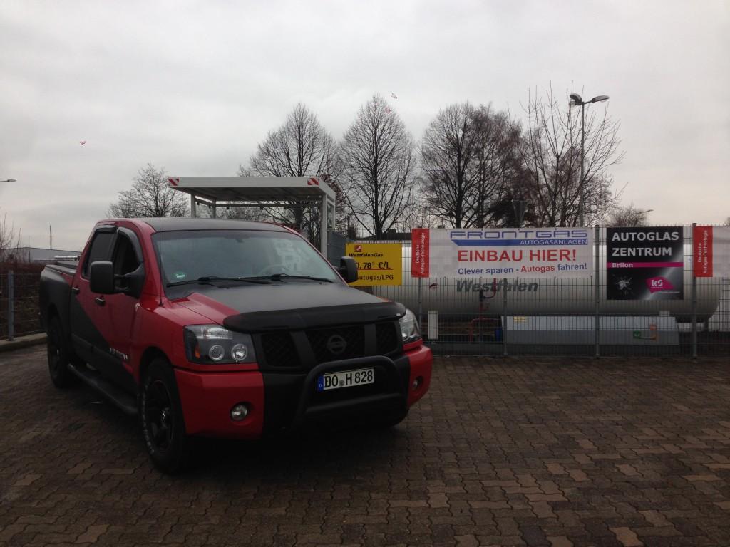 Autogas Umrüstung Nissan