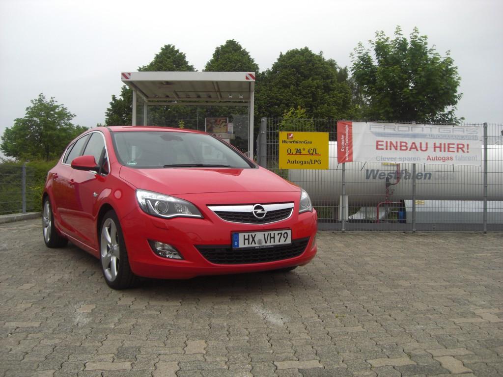 Autogas Umrüstung Opel