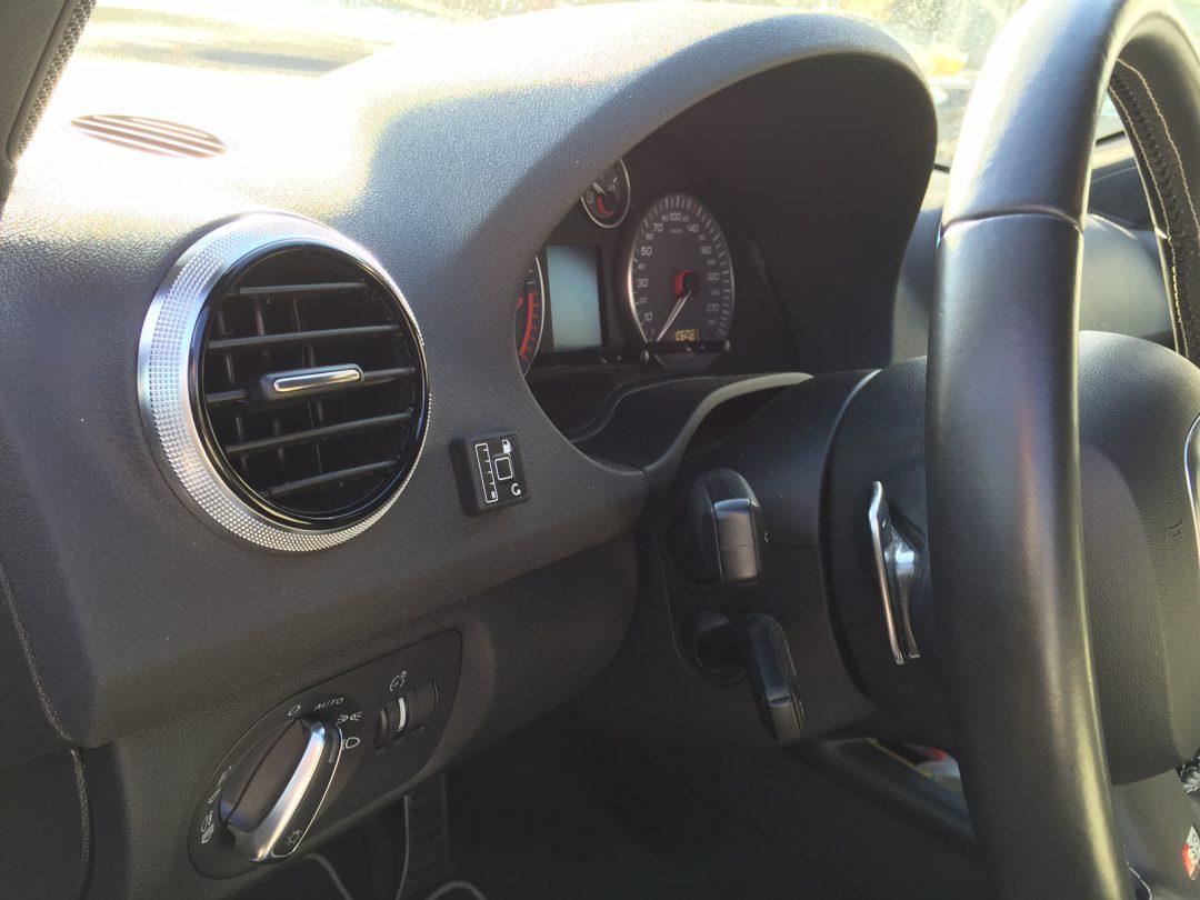 Autogas-Umruestung-LPG-Frontgas-Audi-S3-2,0-TSI -Tankuhr