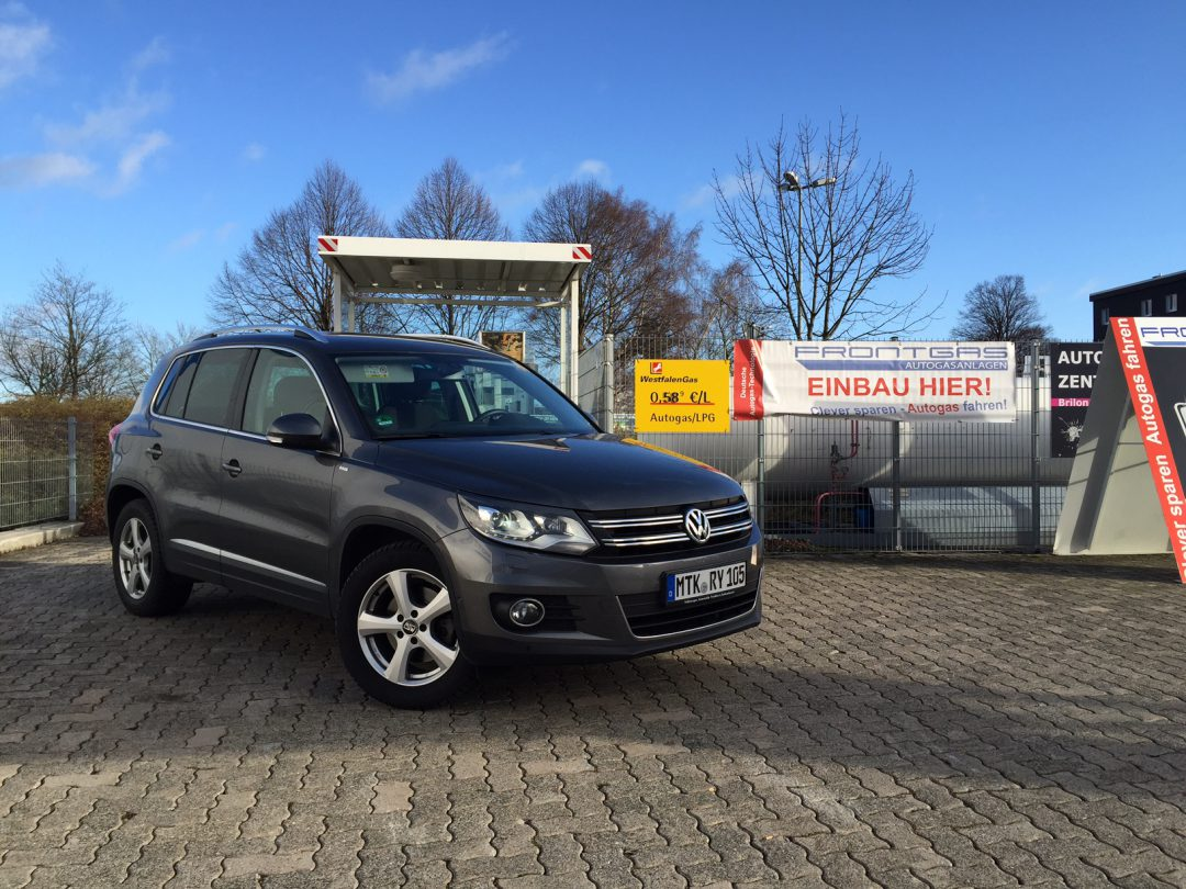 Autogas Umrüstung VW