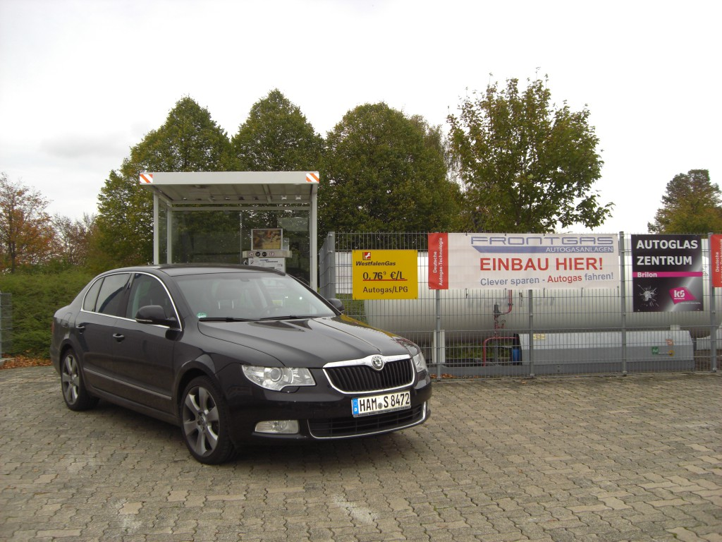 Autogas Umrüstung Skoda