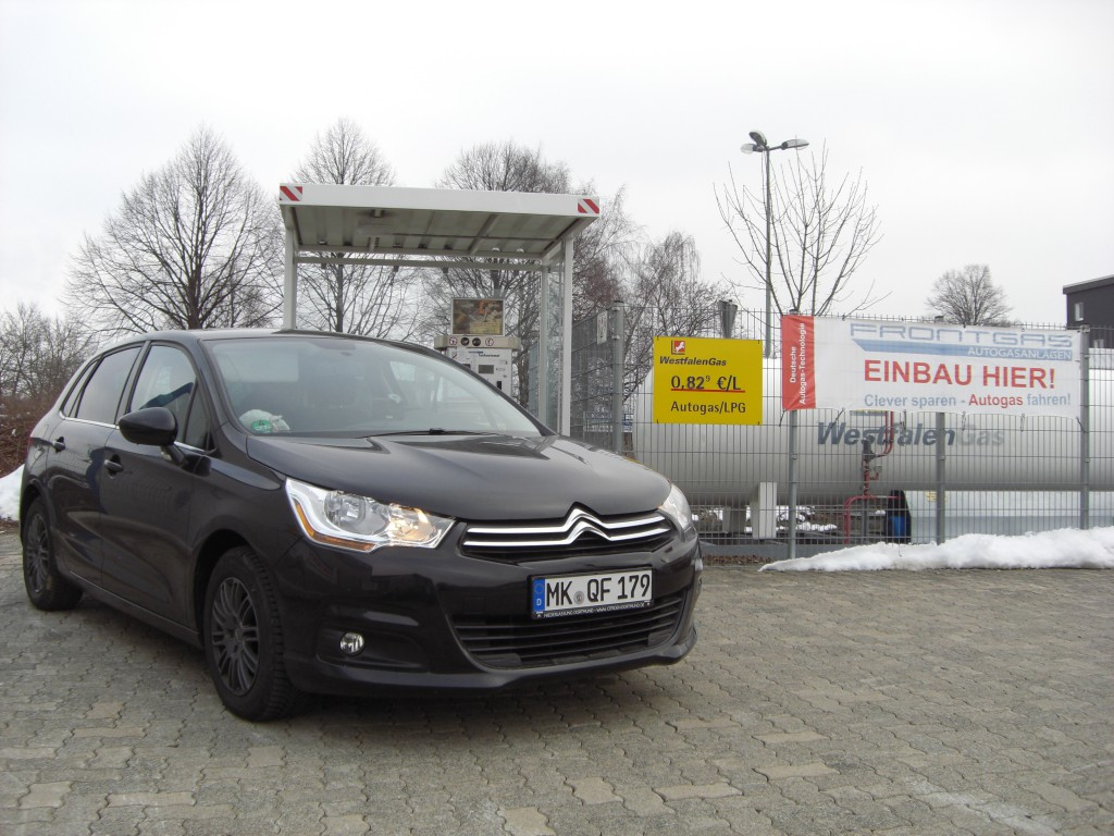Autogas Umrüstung Citroën