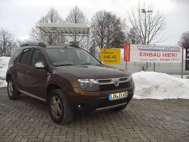 Autogas Umrüstung Dacia