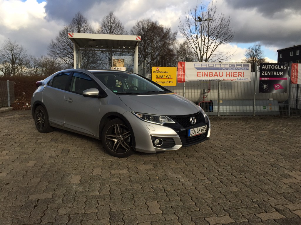 Autogas Umrüstung Honda