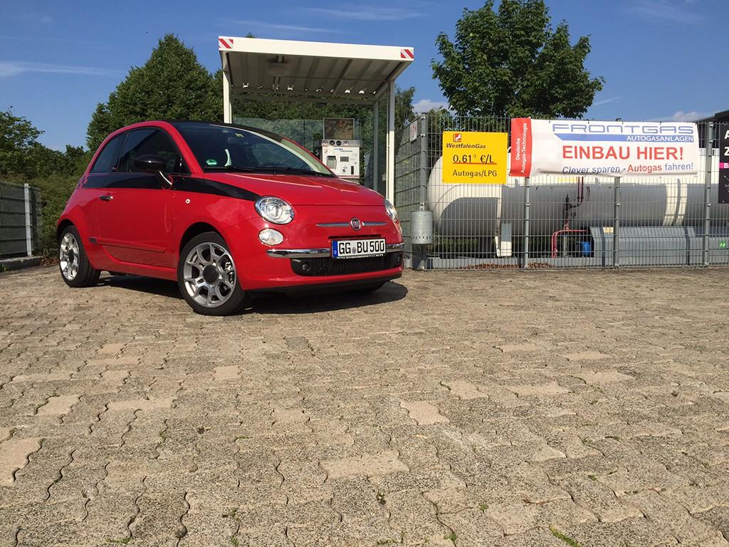 Autogas Umrüstung Fiat