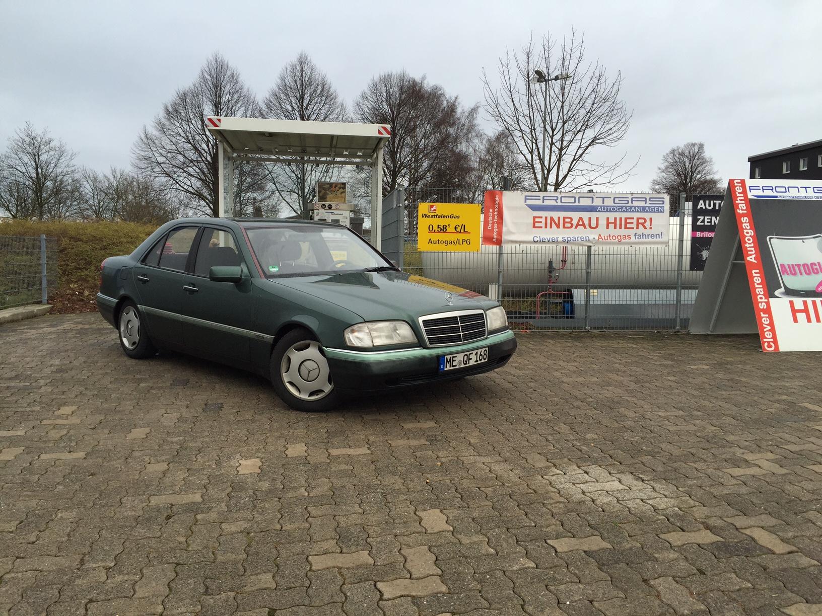 Autogas-Umrüstung-LPG-Frontgas-Mercedes-C180-W202-5