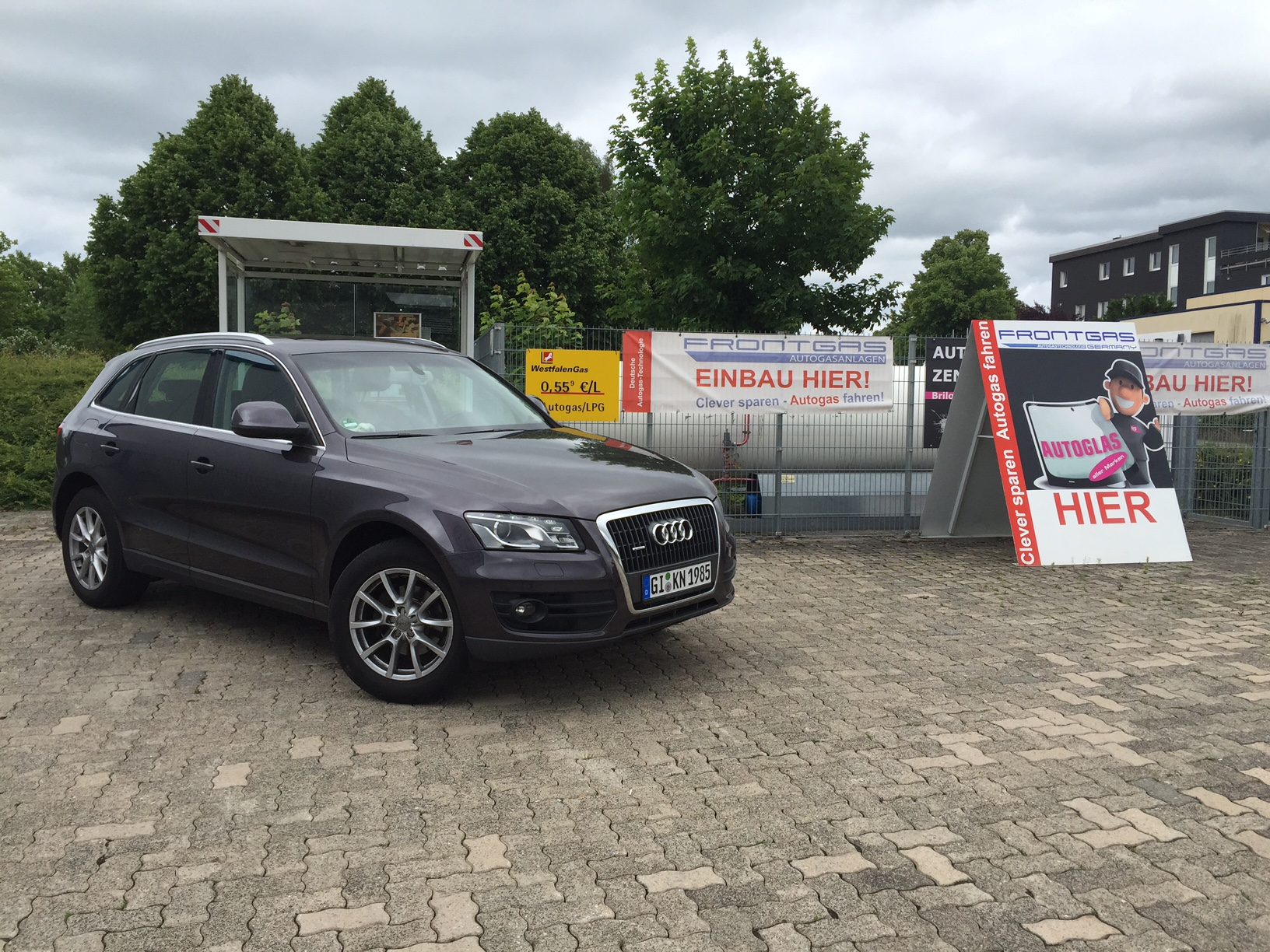 Autogas-Umrüstung-LPG-Frontgas-Audi Q5 2,0TFSI-3