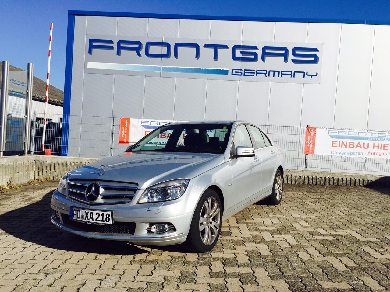Autogas-Umrüstung-LPG-Frontgas-Mercedes-C200K-W204-5