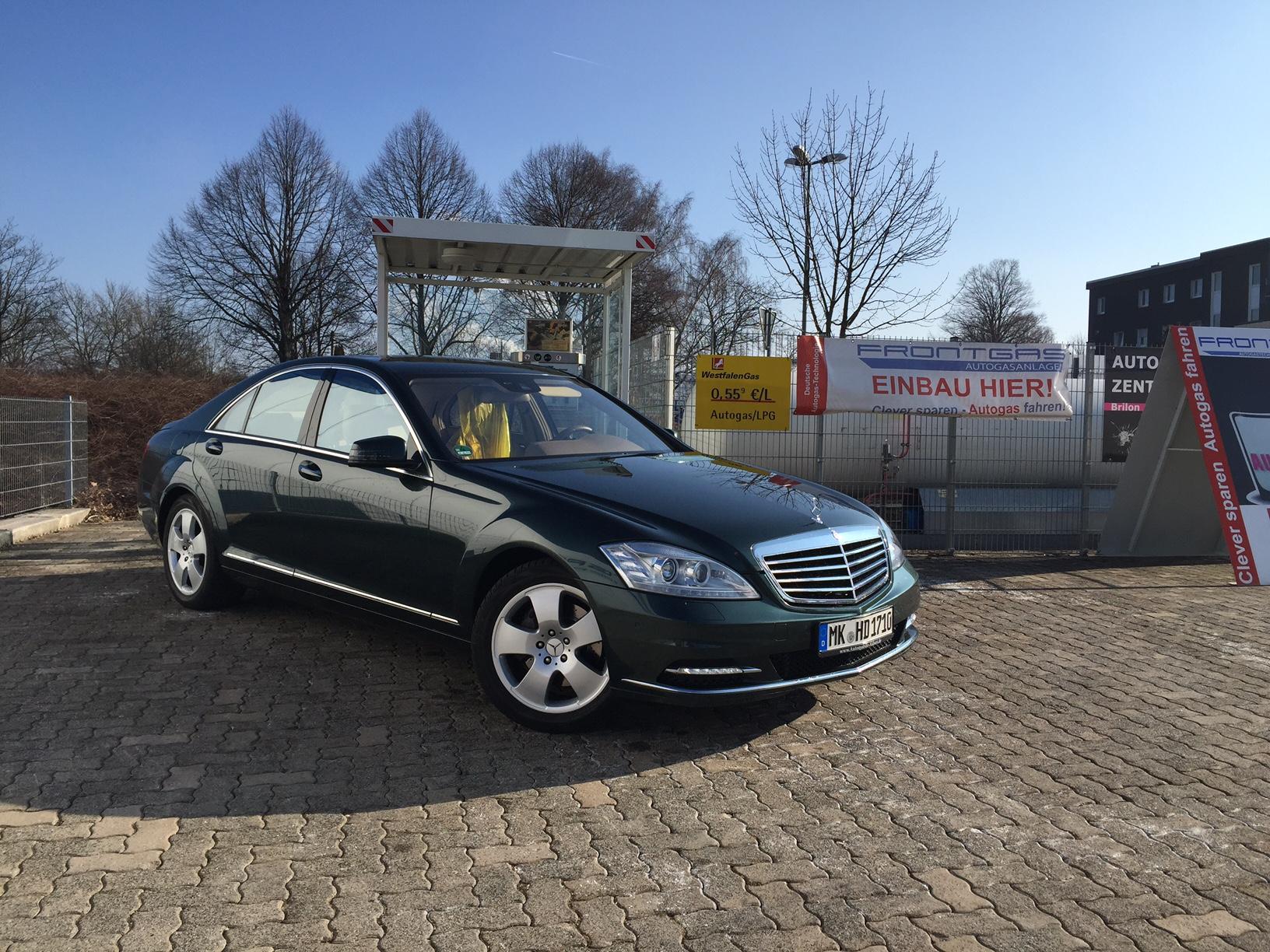 Autogas-Umrüstung-LPG-Frontgas-Mercedes-S350-W221-3