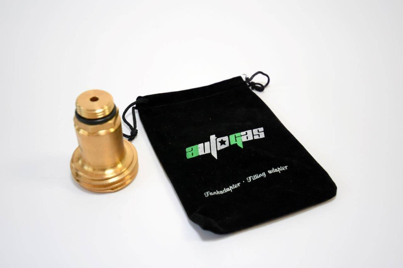 LPG Autogas Adapter mit Sinter Filter
