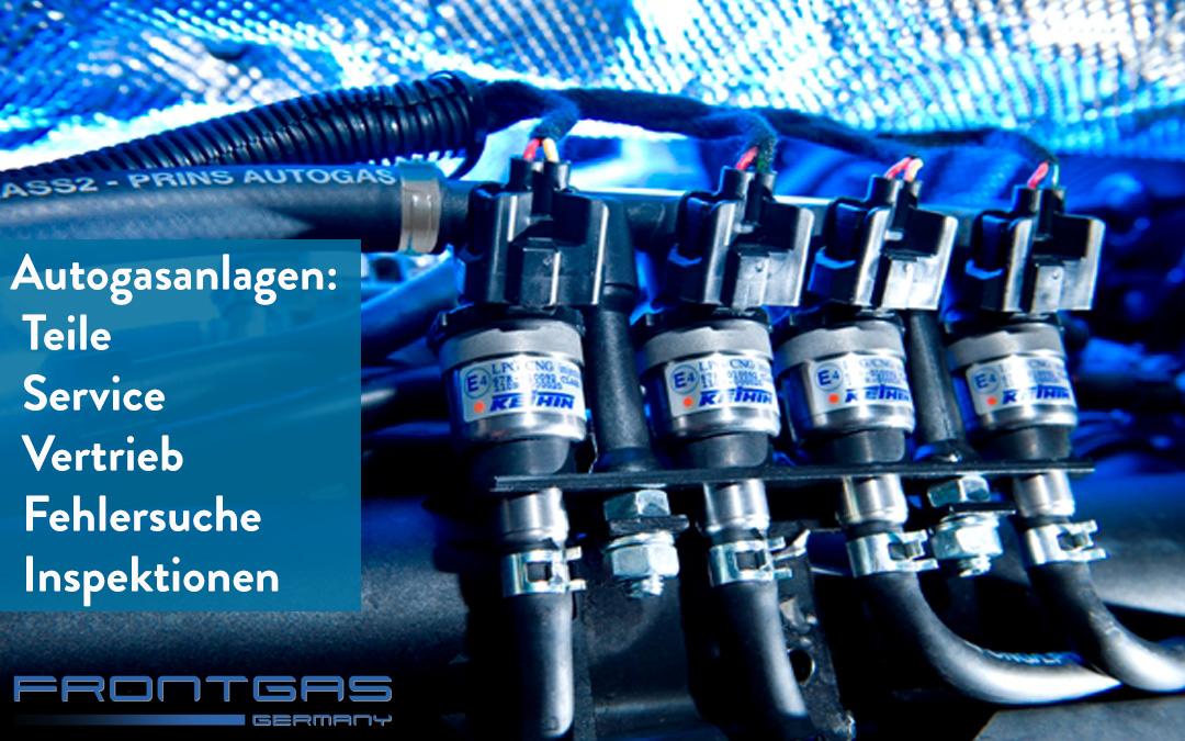 Service & Vertrieb von Autogasanlagen von Prins und anderen