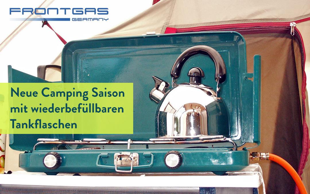 Frontgas – Neue Camping Saison mit wiederbefüllbaren Tankflaschen