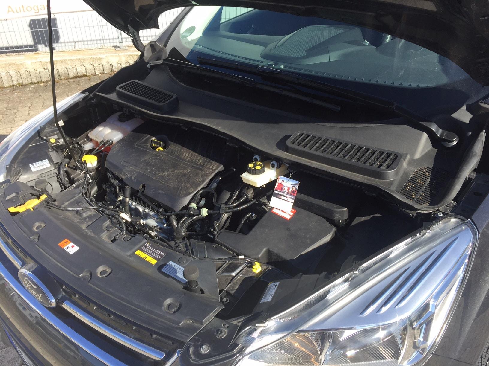 Autogas-R115-Umrüstung-auf-LPG-Autogas_Ford-Kuga-1,5Ecoboost-Direkteinspritzer-Prins-DLM-Motor