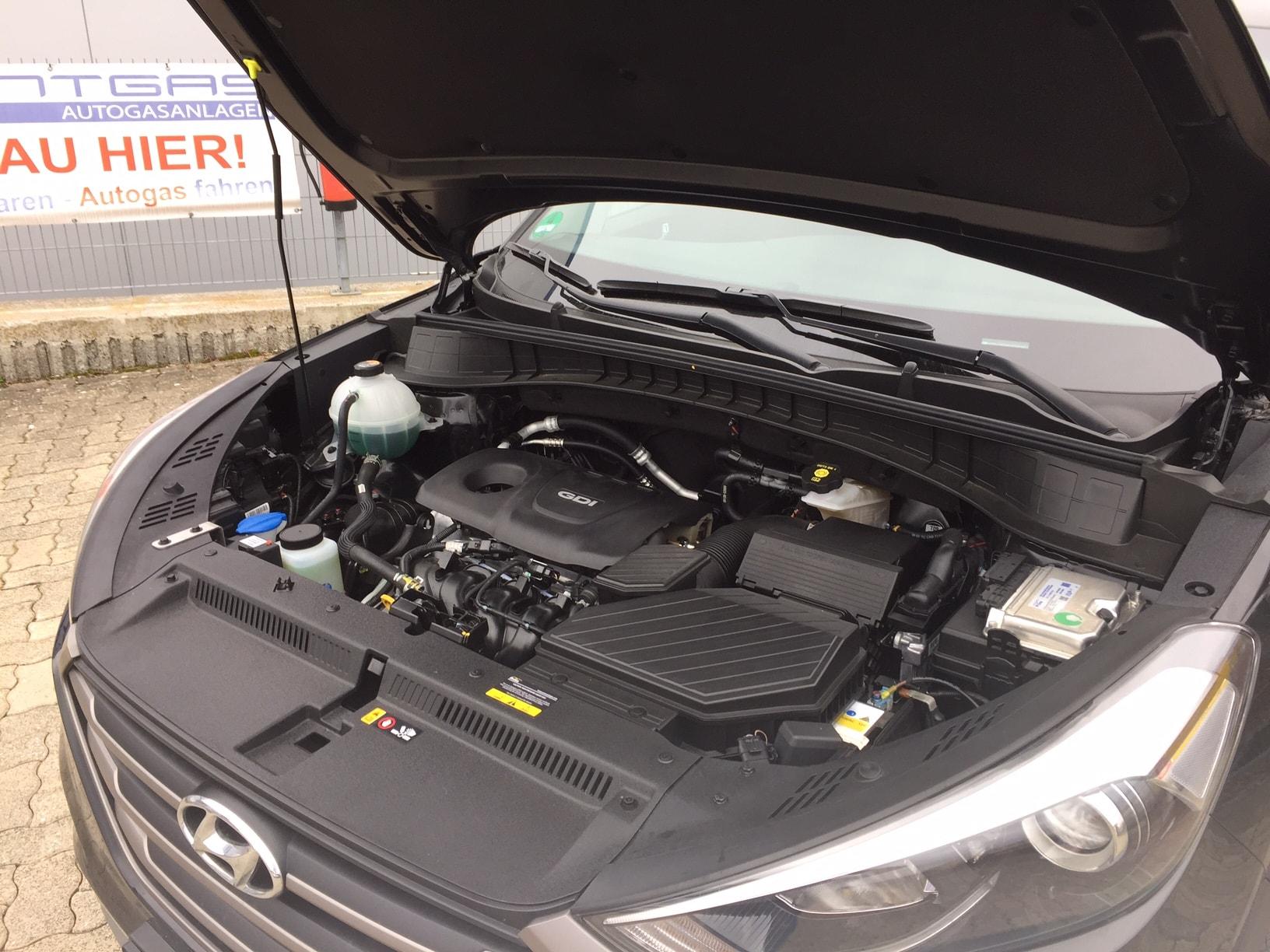 Autogas-R115-Umrüstung-auf-LPG-Autogas_Hyundai-Tucson-1,6GDI-Direkteinspritzer-Prins-DLM-Motor