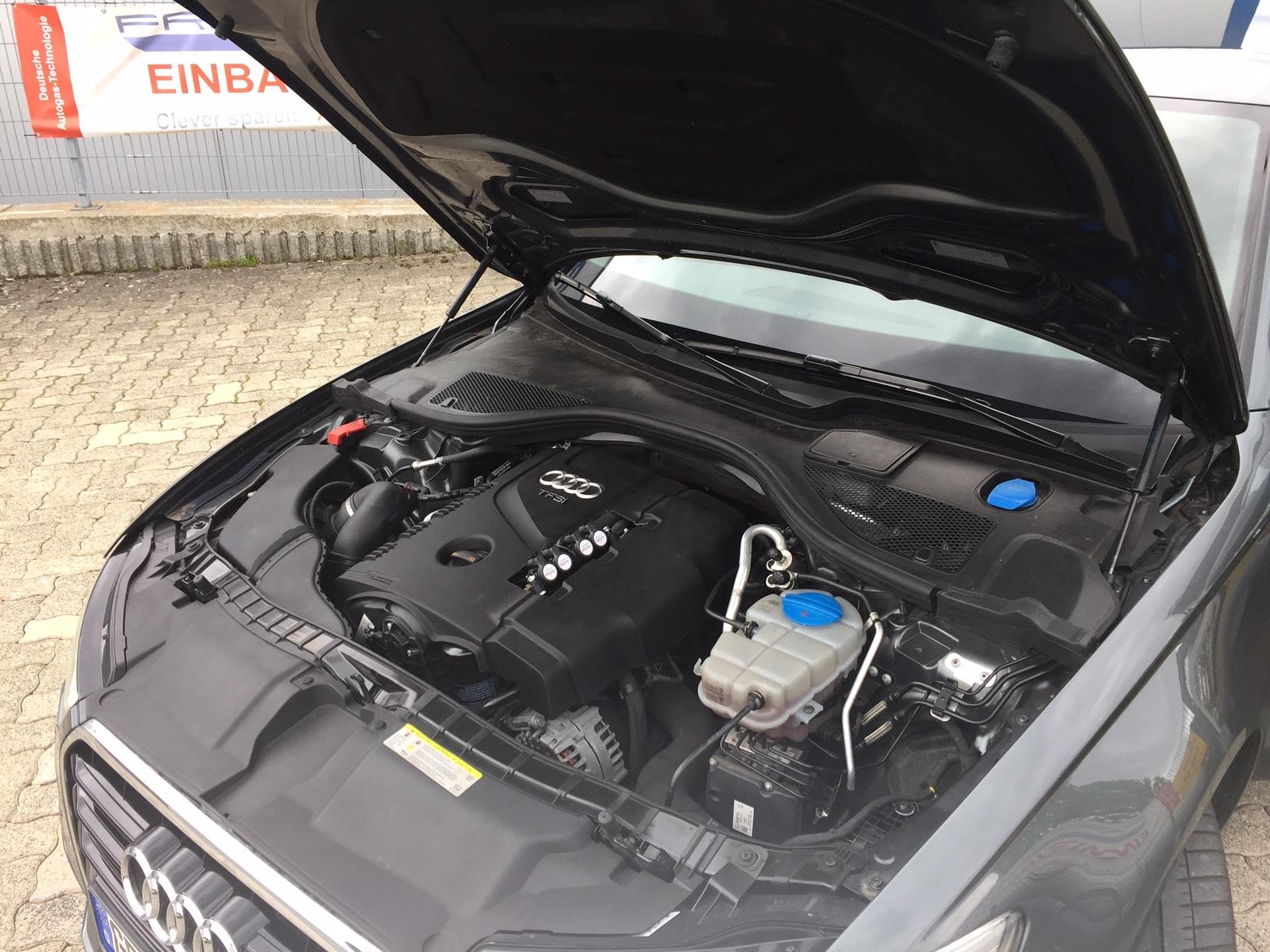 Autogas_R115-Umrüstung-auf-LPG-Autogas_Audi-A6-4G-2,0TSI-Direkteinspritzer-Motor2