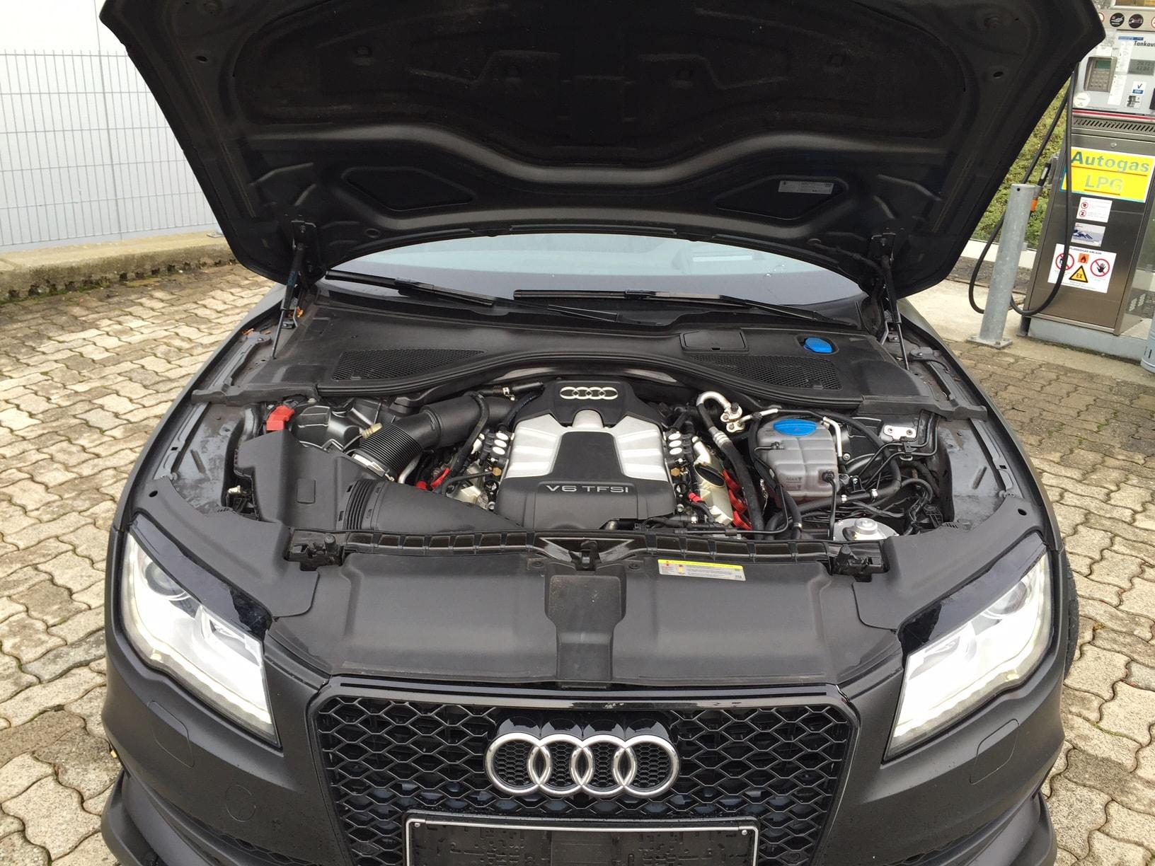 Autogas_R115-Umrüstung-auf-LPG-Autogas_Audi-A7-3,0TSI-Direkteinspritzer-Motor