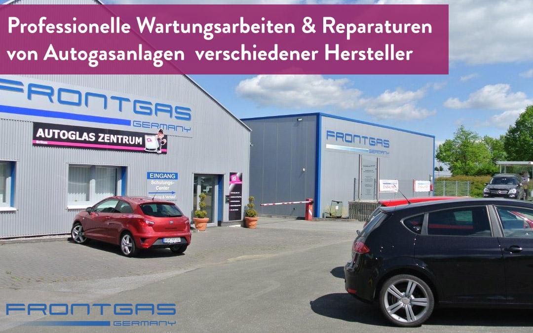 Professionelle Wartungsarbeiten und Reparaturen von Autogasanlagen verschiedener Hersteller