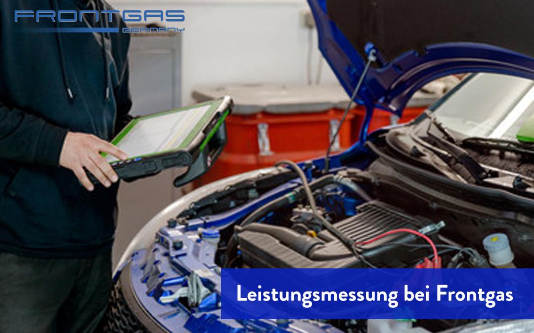 Leistungsmessung bei Frontgas. Der Prüfstand im Sauerland