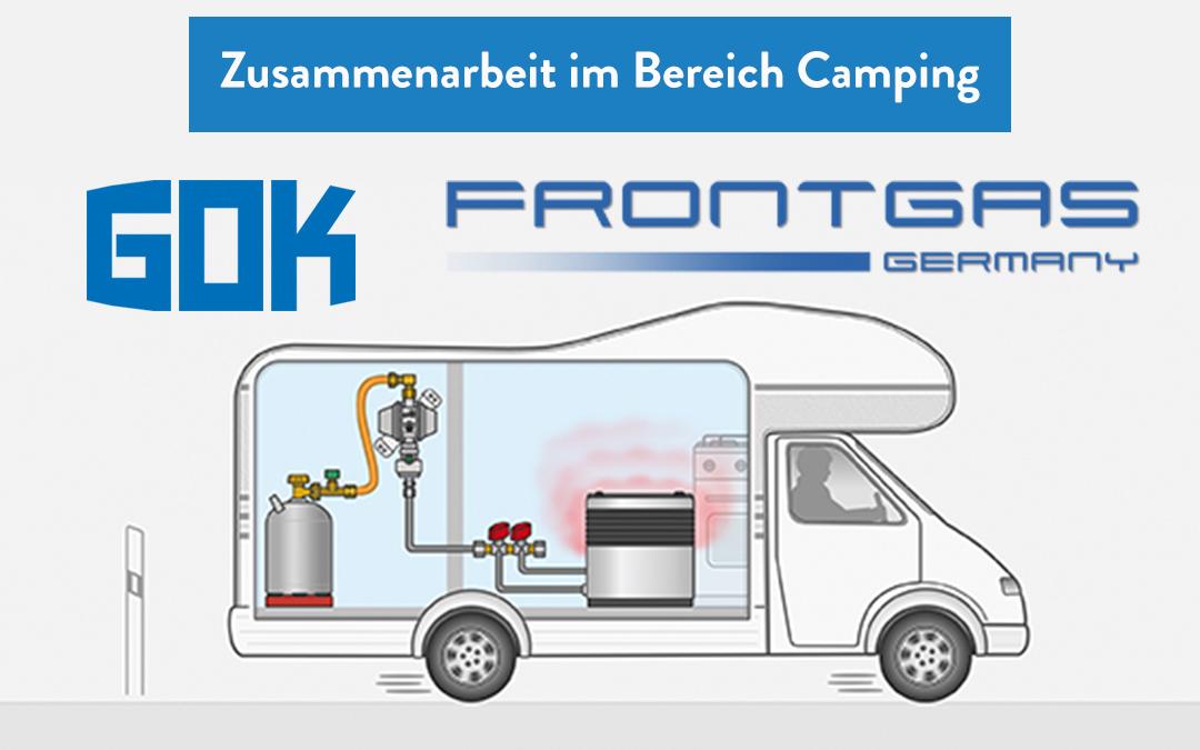 Frontgas Camping startet die Zusammenarbeit mit GOK im Bereich Camping
