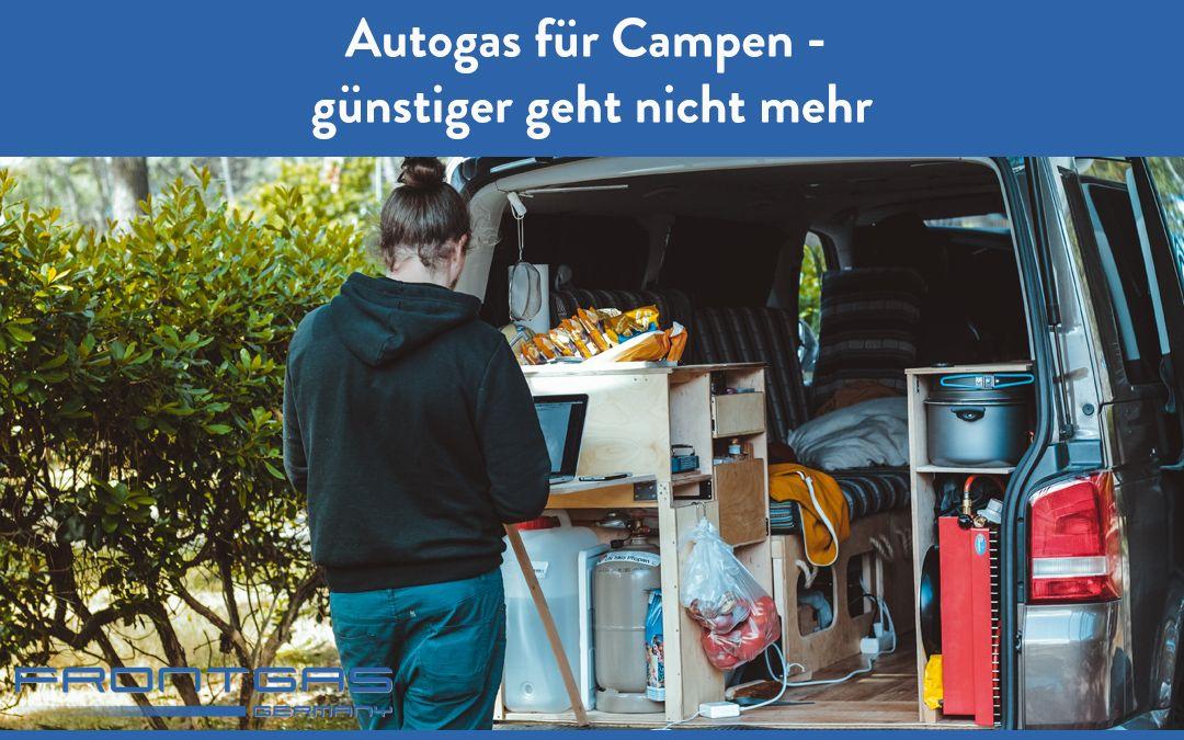 Autogas – günstiger geht nicht mehr