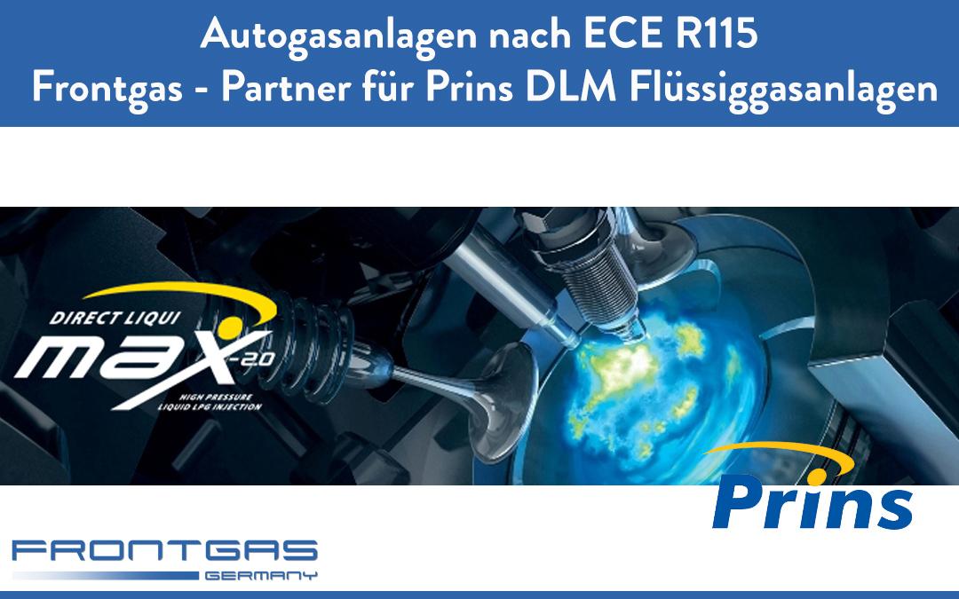 Frontgas Ihr Partner für Prins DLM Flüssiggasanlagen