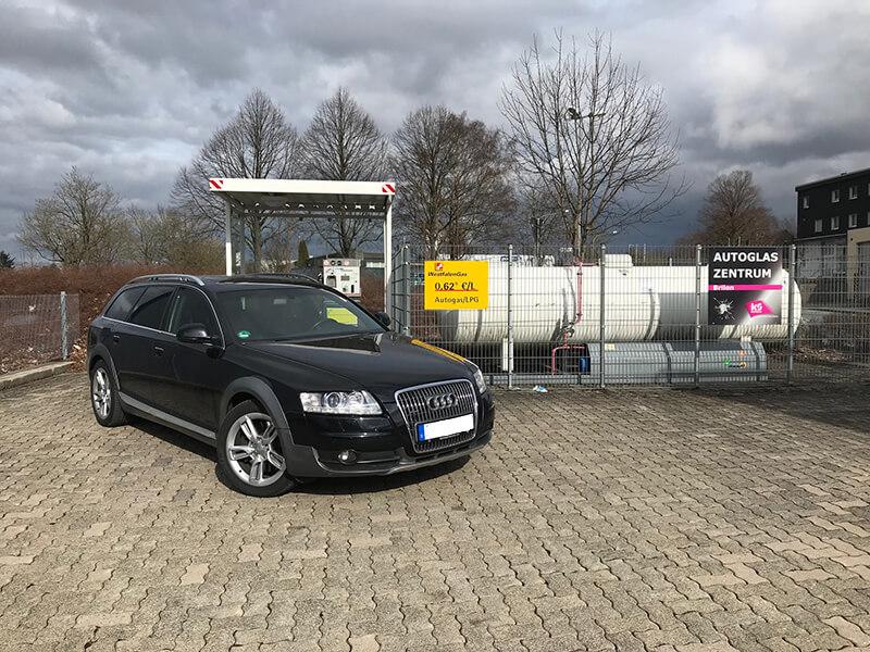 Autogas-Umruestung-LPG-Frontgas-Audi-A6-Allroad-3.0-TSI-Direkteinspritzer-Titelbild