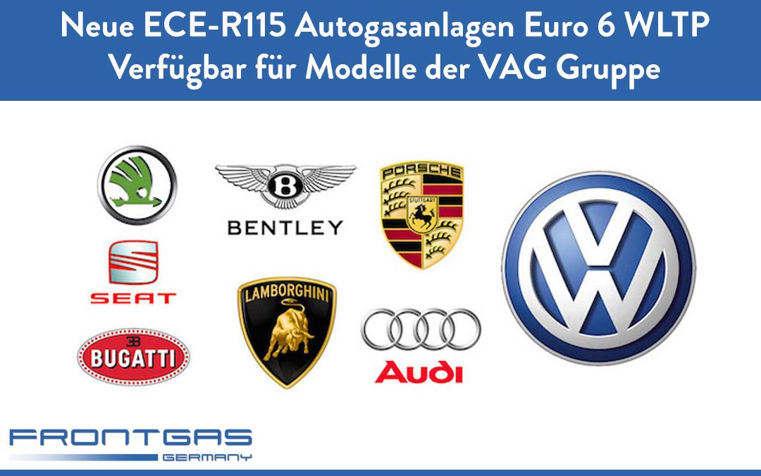 Neue ECE-R115 Autogasanlagen Euro 6 WLTP