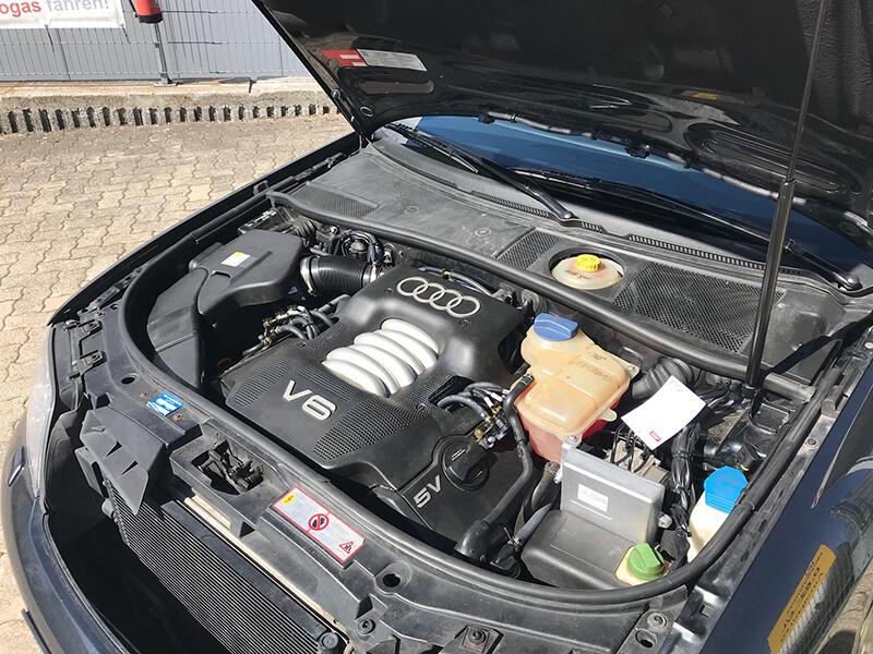 Autogas-Umruestung-LPG-Frontgas-Audi-A6-2.4-V6-4