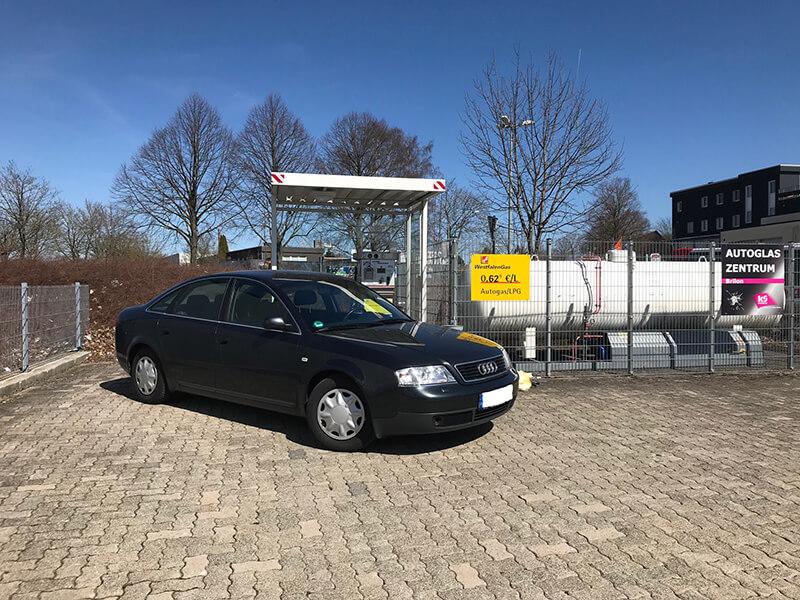 Autogas-Umruestung-LPG-Frontgas-Audi-A6-2.4-V6-Titelbild