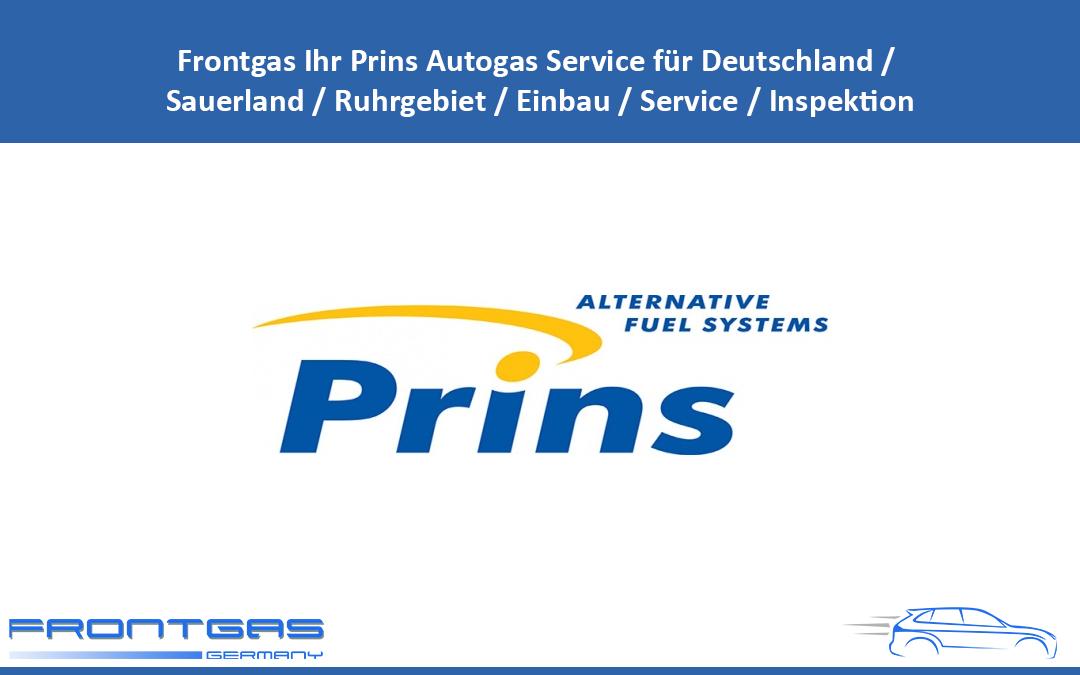 Frontgas Ihr Prins Autogas Service für Deutschland / Sauerland / Ruhrgebiet / Einbau / Service / Inspektion